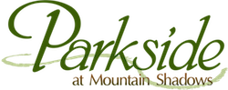 Parkside at Mountain Shadows Retina Logo